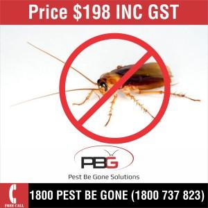Cockroaches $198