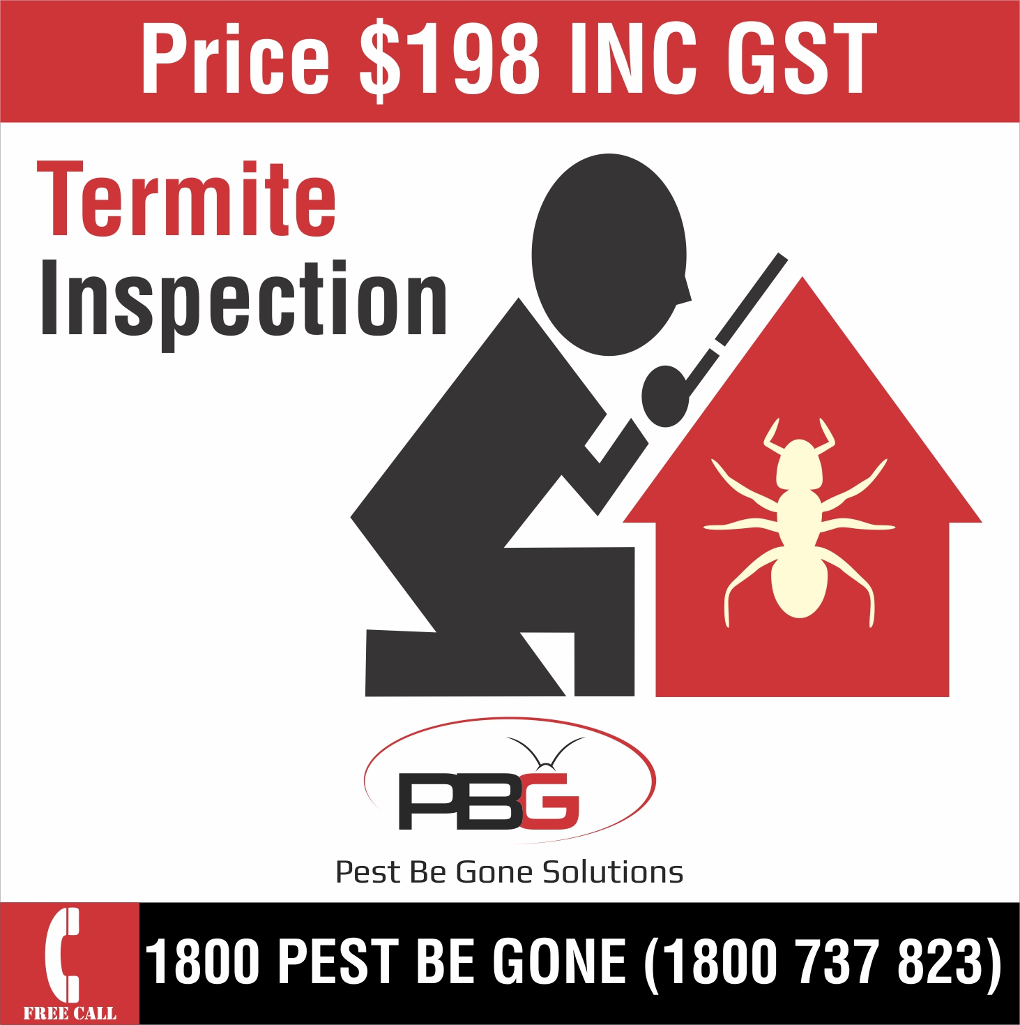 Promotions Pest Be Gone Solutions