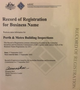 Perth & Metro Building Inspections